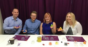 Stopford Accountants team building event at StraightCurves Chesterfield