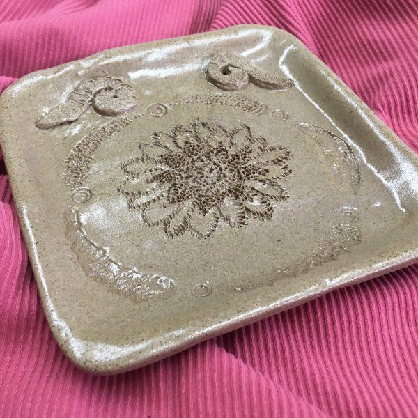 Decorative Pottery Dish
