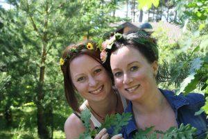 Kate & Liz Pope tutors at StraightCurves