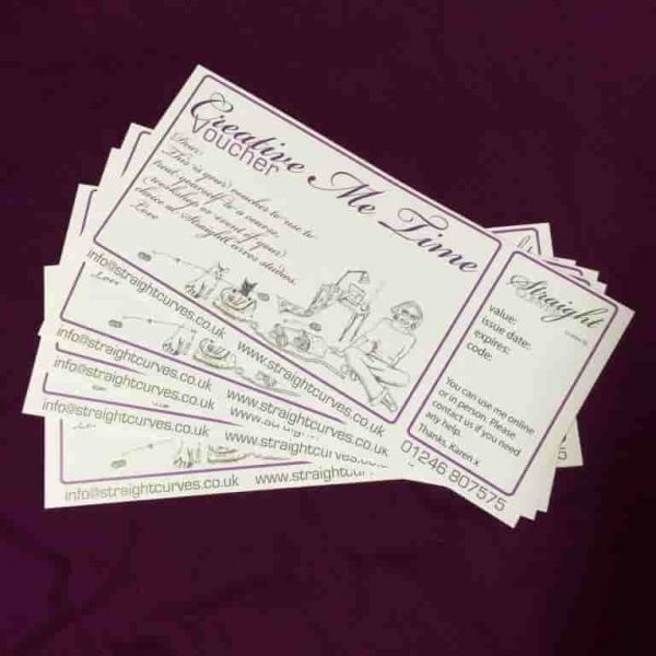 Gift Vouchers available at StraightCurves