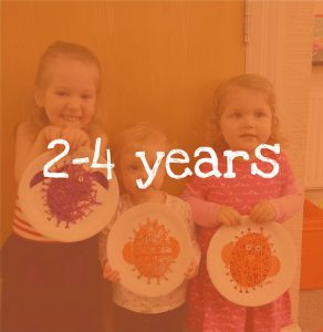 Kids Craft Classes suitable for 2-4 year olds in Chesterfield