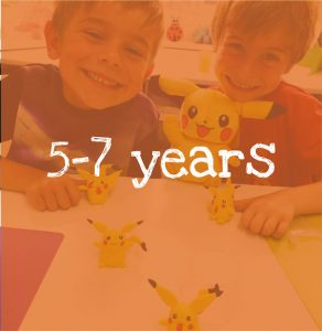 Kids Craft Classes suitable for 5-7 year olds in Chesterfield