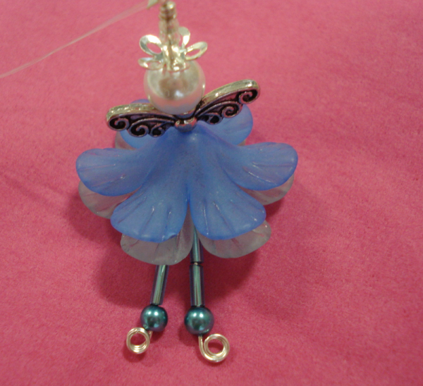 Beaded fairy
