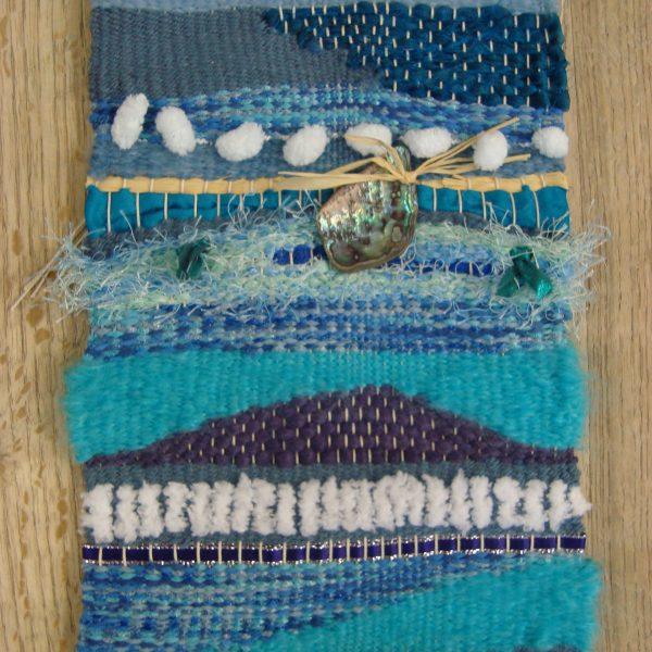 Blue weaving