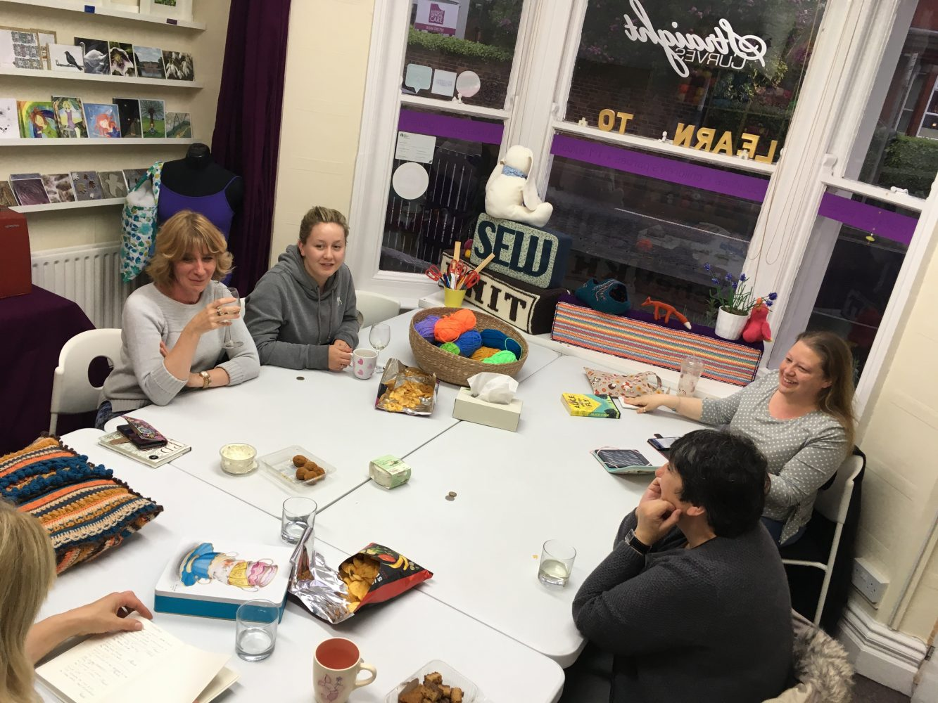 Book Club at StraightCurves Chesterfield