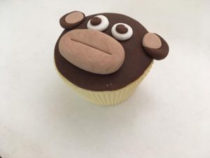 Cake Decorating Cheeky Monkey Cupcake