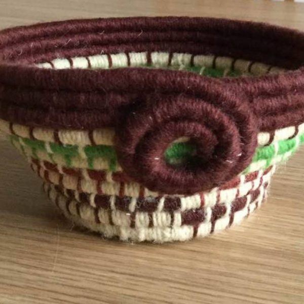 Coiled Baskets course available at StraightCurves Chesterfield