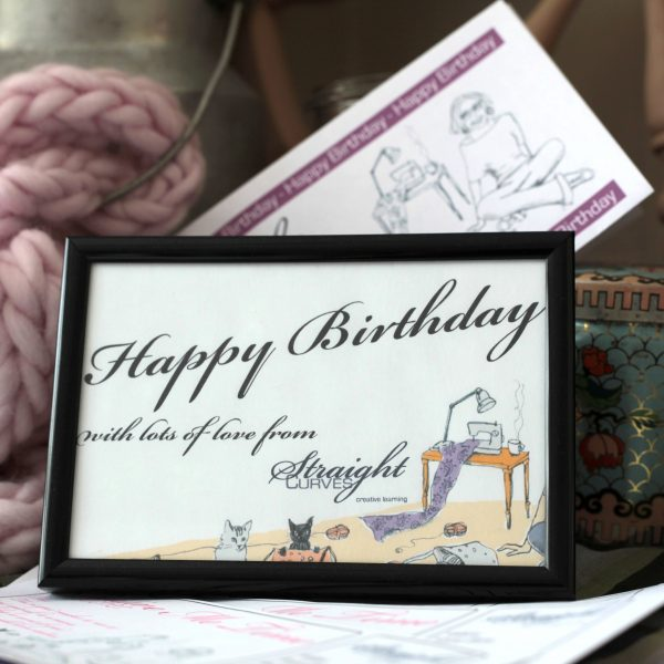 Happy Birthday Gift Voucher available at StraightCurves