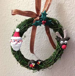 JumpingCLAY Wreath