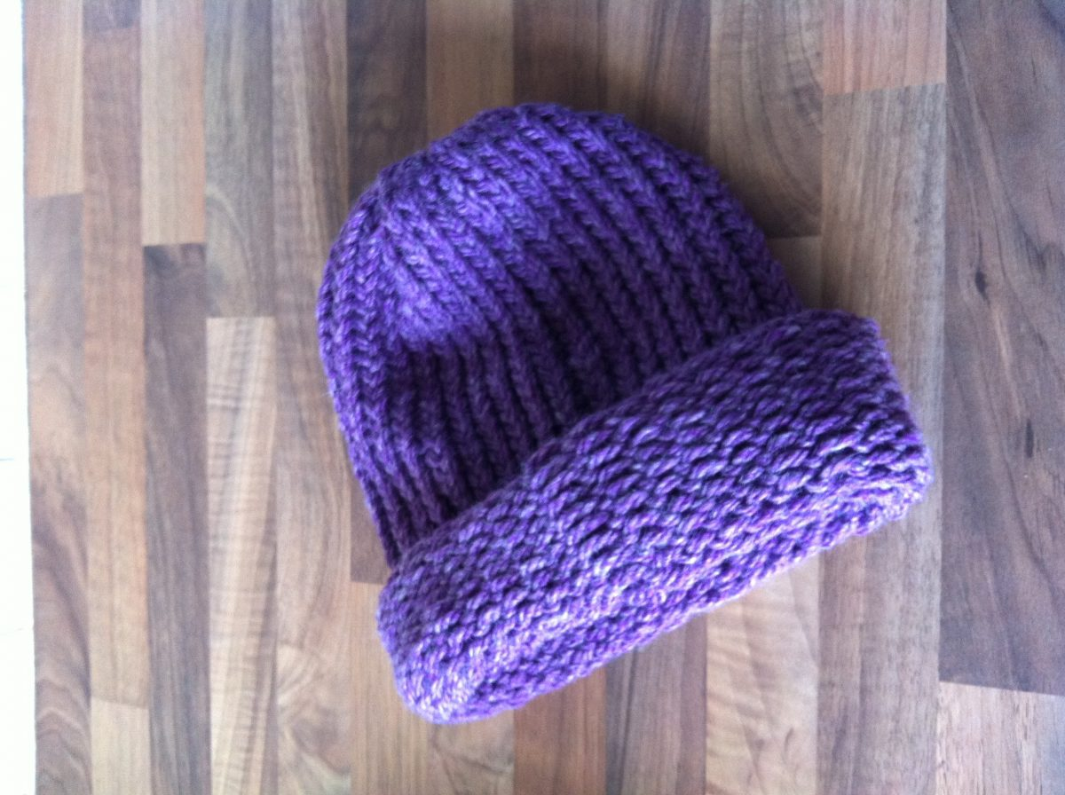 Loom Knitting Hat Or Cowl Straightcurves Chesterfield
