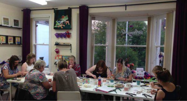 beginners' mosaic workshop
