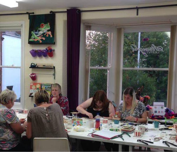 beginners' mosaic workshop