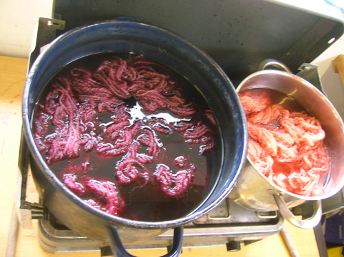 Natural Dyeing process at StraightCurves