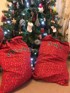 Personalised Santa Sack - Phoebe and Amy