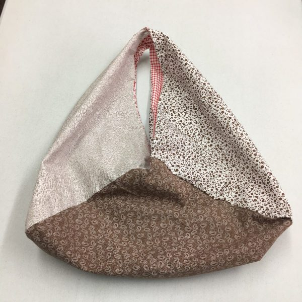 Reversible Bento Bag - stone colours