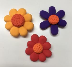 JumpingCLAY flowers