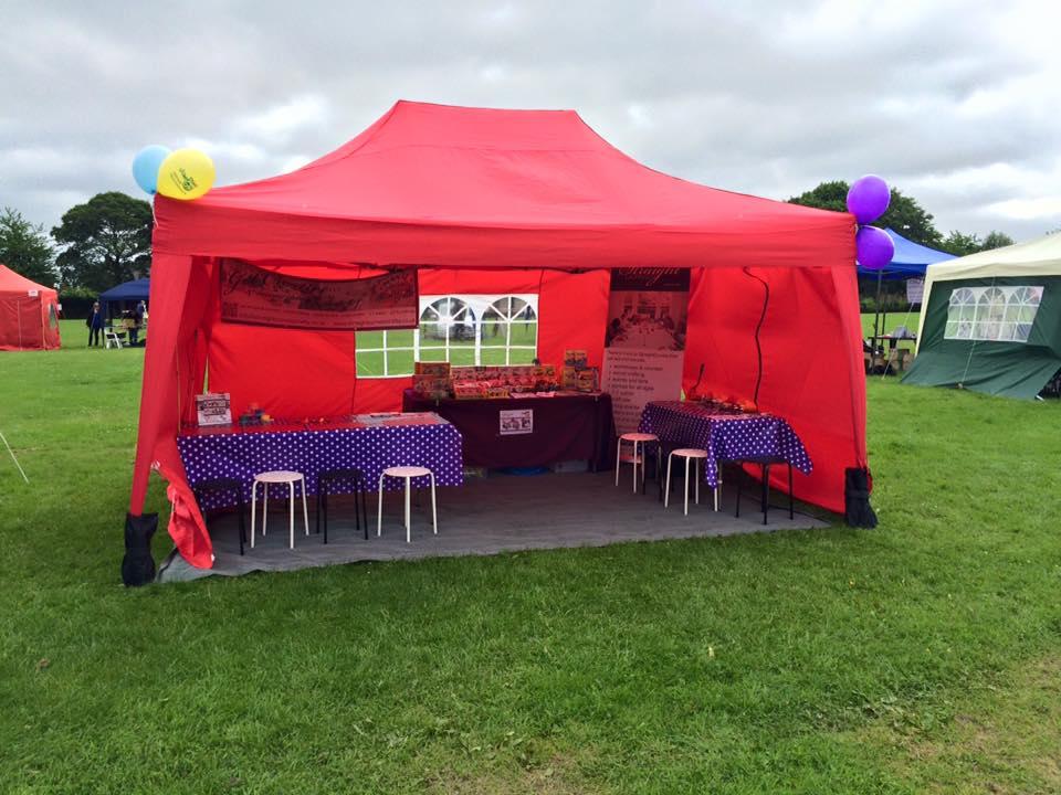 StraightCurves Events Craft Tent