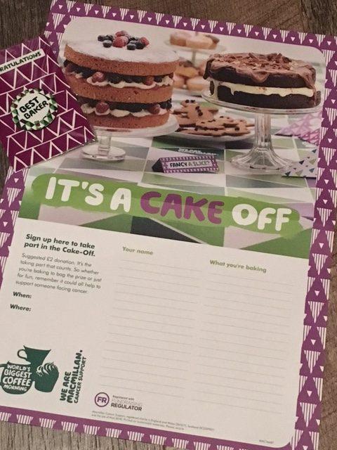 Macmillan Cake Off