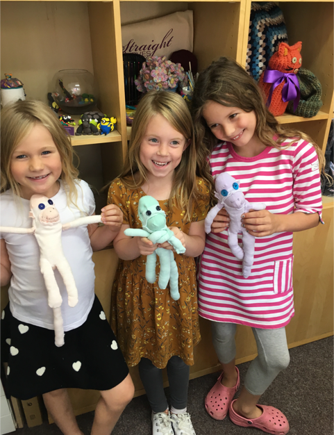 Fabulous Sock Monkeys with Creators