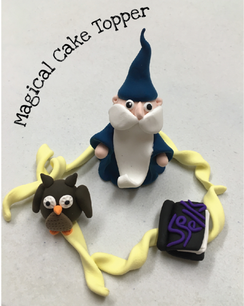 JumpingCLAY Cake Toppers StraightCurves