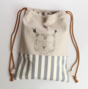Elvelyckan Design Free Gym Bag Pattern - Image of drawinstring bag