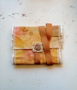 Bookbinding Fabric Covered Journal
