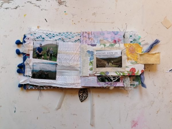 Mini monthly journal example inside