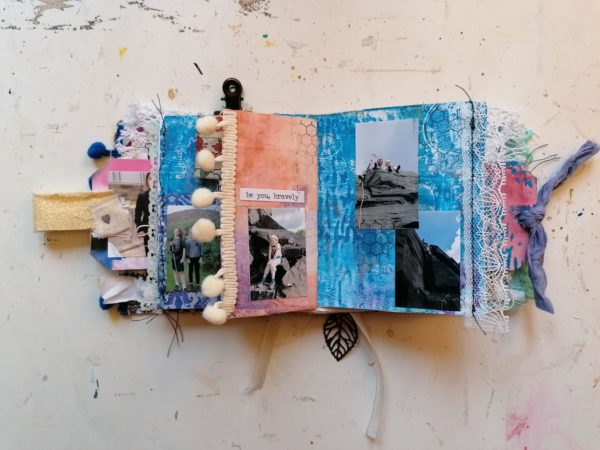 Mini monthly journal creation